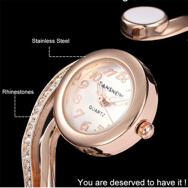 Las mujeres relojes de lujo 2021 pulsera de reloj de oro/plata Dial pequeño Dial vestido cuarzo reloj de pulsera de regalo para las mujeres, reloj de mujer 6