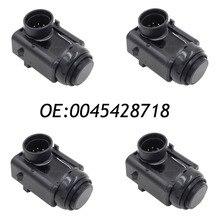 4 UNIDS Parktronic PDC Sensor Para Mercedes R171 S211 R230 X164 0045428718, A0045428718, 0015427418, 05120341AA