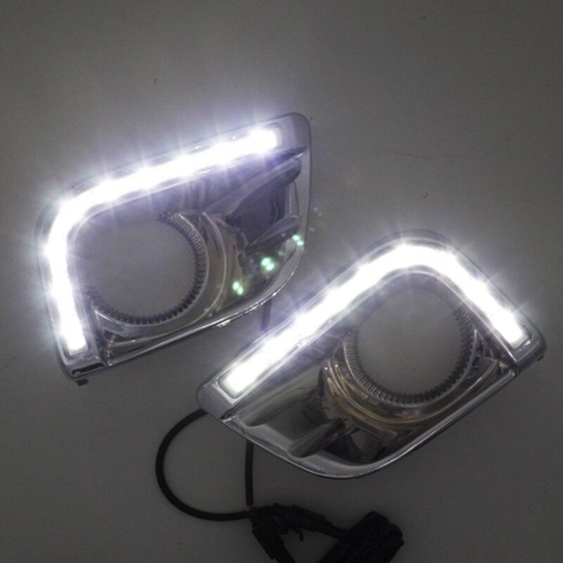 SUNKIA Car LED DRL ցերեկային հոսող թեթև - Ավտոմեքենայի լույսեր - Լուսանկար 6