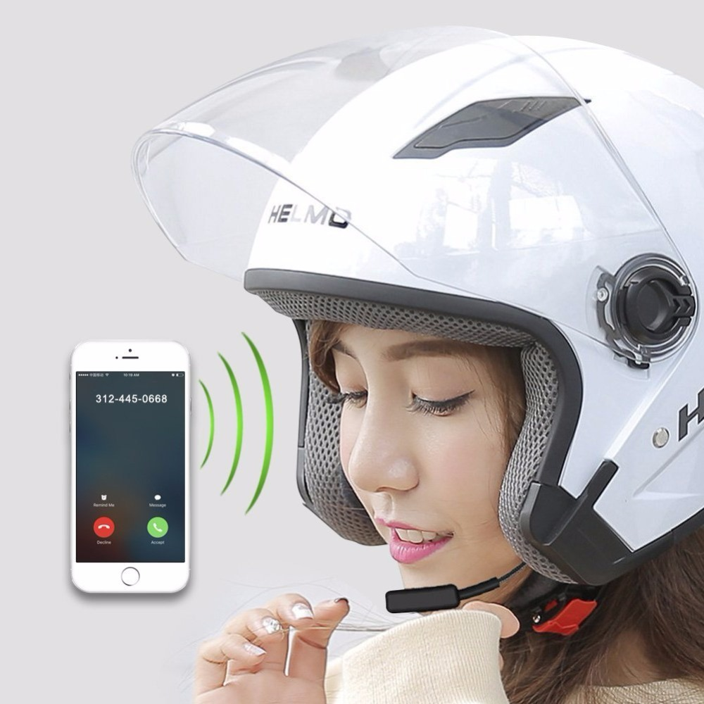 New Arriv Wireless Bluetooth Motorcycle Headset Communication Systems for Motor Motorbik ...