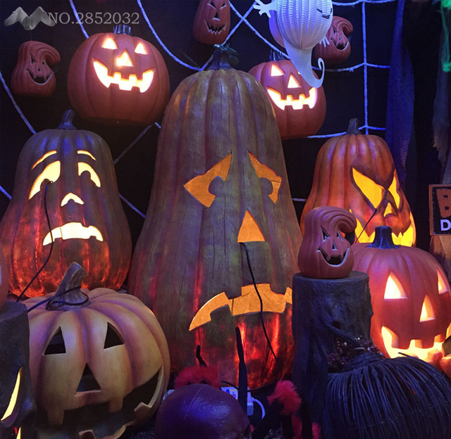 Lfh halloween decorations night lamp cute funny pumpkin lamp big lfh halloween decorations night lamp cute funny pumpkin lamp big medium light pumpkin props creative night aloadofball