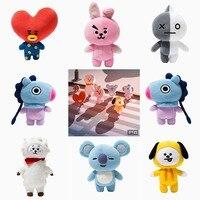 New Kpop Bangtan Boys BTS Bt21 Vapp Same Pillow Plush Cushion Warm Bolster Q Back Doll