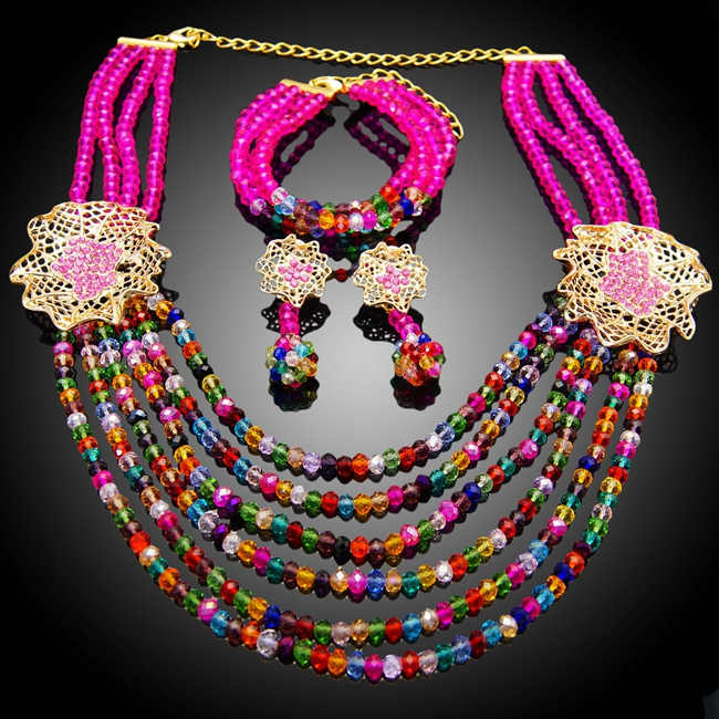 Free shipping costume African fashion jewelry sets fashion pakistani bridal jewelry sets wholesale genuine solid state relay ssr3 d48100hk 100a 24 480vac