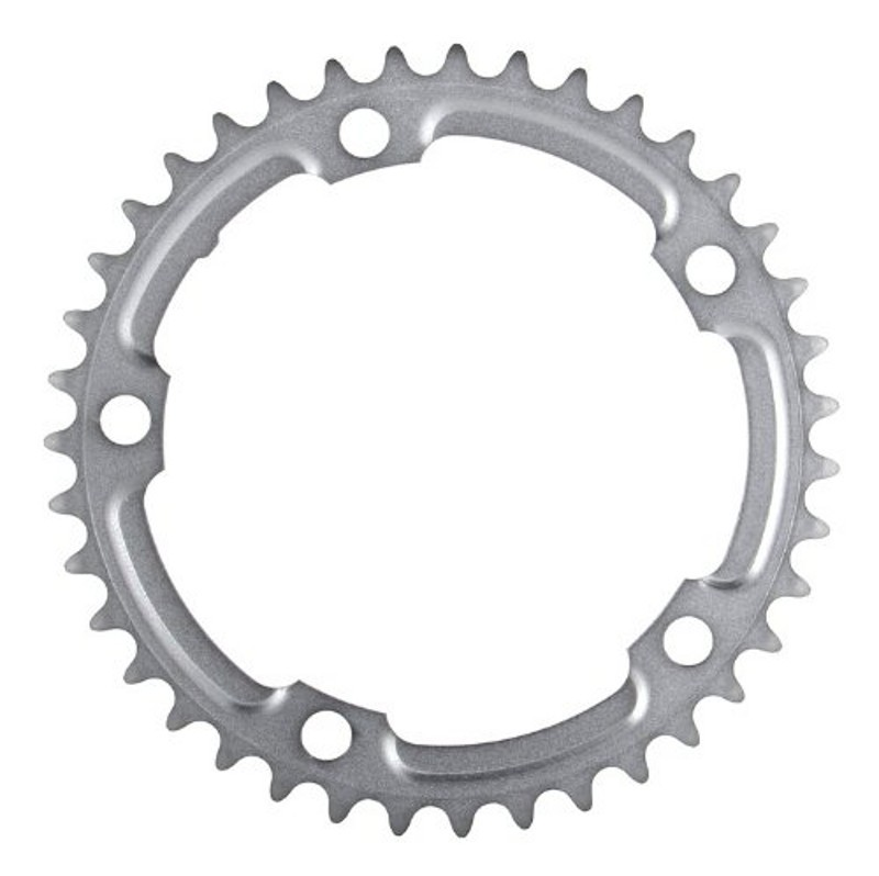 Shimano 105 5700 39t 130mm 10-Speed Chainring Silver