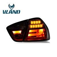 VLAND фабрика для автомобиля хвост лампа для E90 фонарь для 2005 2006 2008 2010 2012 для 320 325i светодиодный фонарь с DRL Водонепроницаемый