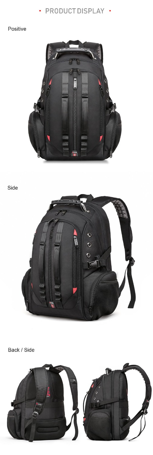 15.6 Anti-Theft Laptop Backpack  - Durable 45L S Strap Design - womens-laptop-backpacks, womens-bags, mens-laptop-backpacks, mens-bags, google-feed-new