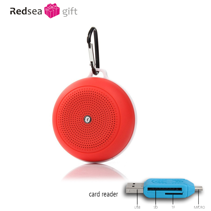 Hot selling mini bärbar Bluetooth-högtalare med TF-kort subwoofer - Bärbar ljud och video