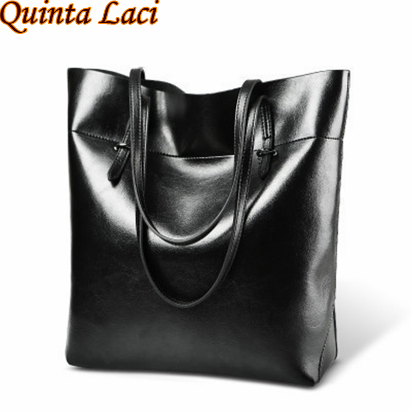 Women bag 2018 New Fashion High Quality Leather Women Bag Bucket Shoulder Bags Solid Big Handbag Large Capacity Top-handle Bags