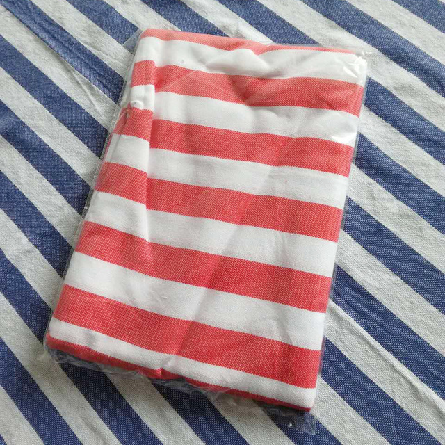Tassel Striped Beach Towel For Adult 100x180cm