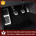 Cheetah Don't need to punch Left driving position Brake pedal Accelerator Pedals Gas Pedal for Skoda Superb B8 2015-2016