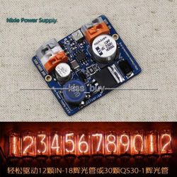NCH6100HV Hohe Spannung DC Netzteil Modul Für Nixie Glow Rohr Magische Auge dc 12V 24V zu 85-235V