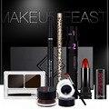 High Quality Qibest Q701 Sets Of 7pcs Pro Beauty Makeup Waterproof Long Lasting Eye Eyebrow LipStick Makeup Cosmetics