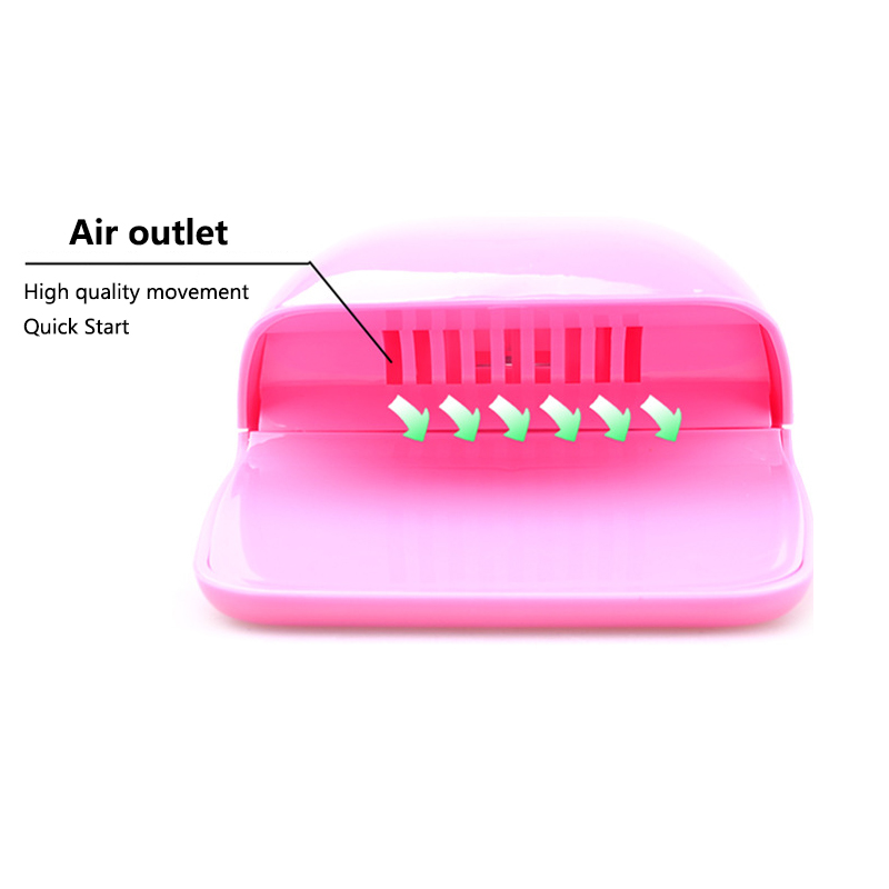 Mini Dryer Fan for Nails Drying Machine for Gel Varnish Home Portable Polish Curing Machines Apparatus Nail Art Fan Dryer in Nail Dryers from Beauty Health