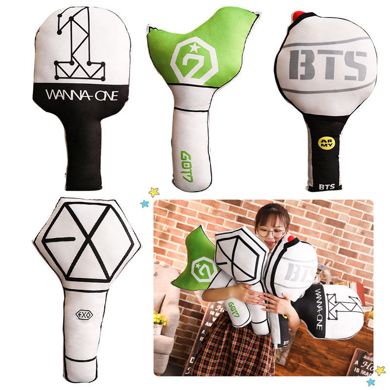 Costumes & Accessories Humor Kpop Bts Exo Got7 Twice Army Light Stick Plush Wands Throw Pillow Cute Sofa Cushion New 2018 Fashion