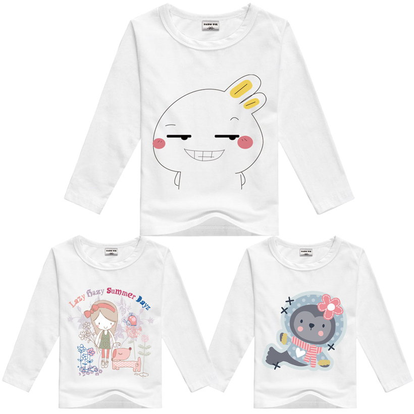 Brand New 2016 Children T Shirts Baby Boys Girls Cotton