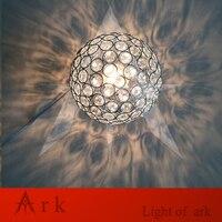 MeetingLight NEW DESIGN Dia 15cm Chrome Shade crystal Ball E27 table Lamp magic fantasy Lighting