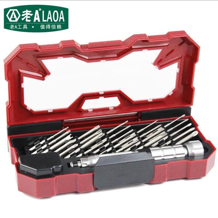 Set di cacciaviti LAOA 25 in 1 Profession Kit di riparazione in - Set di attrezzi - Fotografia 4