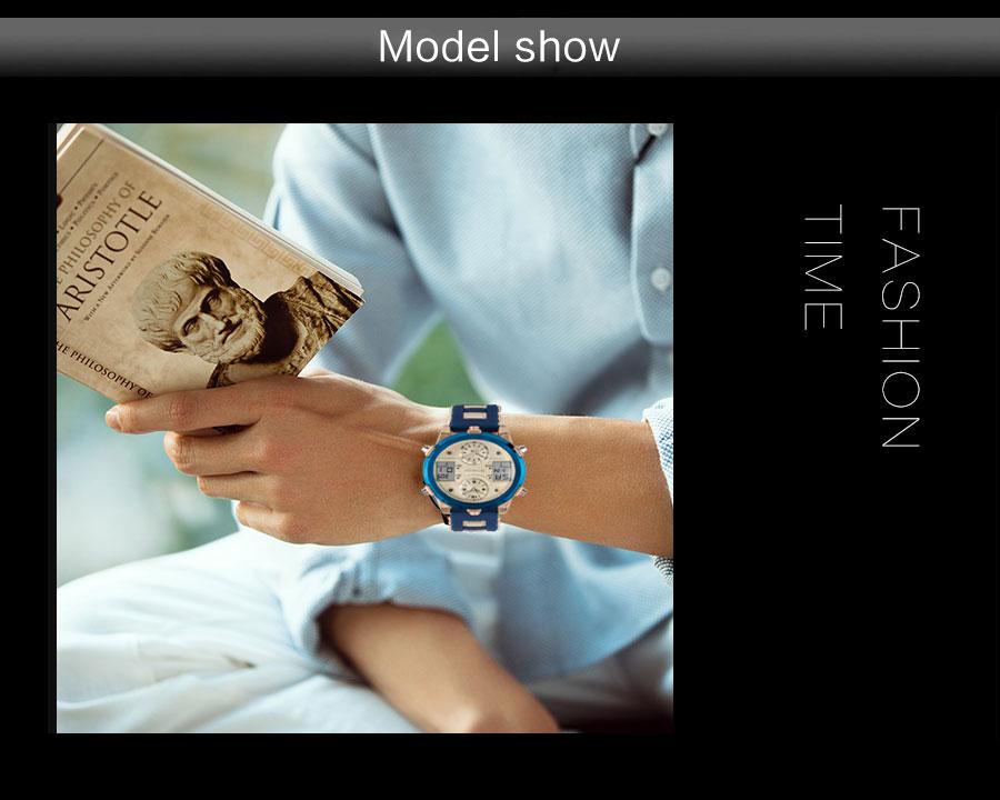 HTB1JhDbc.CF3KVjSZJnq6znHFXaP BOAMIGO Mens Watches Top Luxury Brand Men Sports Watches Men's Quartz LED Digital 3 Clock man Male Wrist Watch relogio masculino