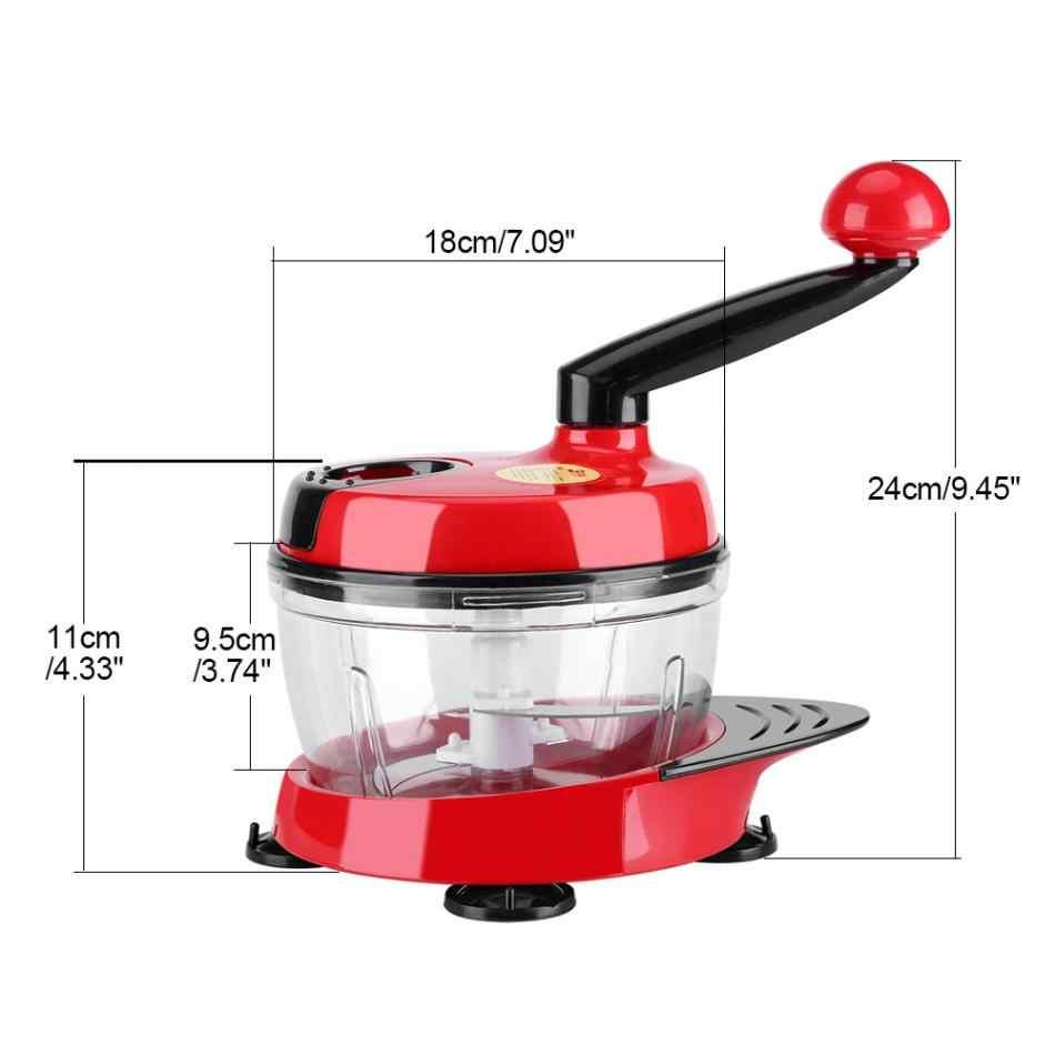 Wielofunkcyjny ręczny nożyk do siekania warzyw maszynka do mielenia żywności owoców Blender akcesoria