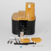 Ferramentas de Poder Da Broca elétrica Caixa de Plástico Da Bateria Para Panasonic EY9200 EZ9200 EY9201 EY9108 12 V 3.0Ah 2.0Ah 1.5Ah NI-MH NI-CD