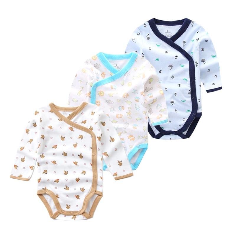 Times 'Сүйікті 3PCS / lot 100% мақта Baby Bodysuit - Балаларға арналған киім - фото 4