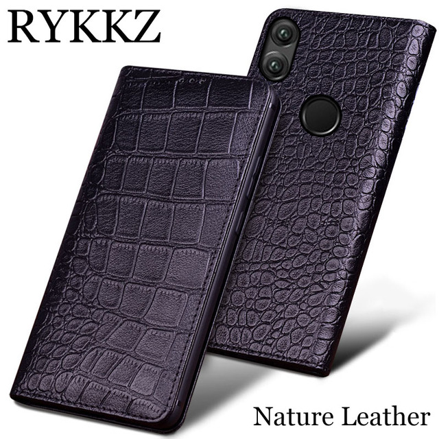 hot sale online 2b900 63703 Buy RYKKZLuxury Genuine Leather Cases For Huawei Honor Note 10 Case ...