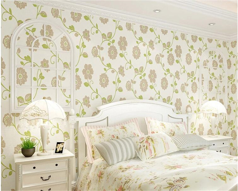 beibehang 3D non-woven papel de parede 3d wallpaper classic fashion pastoral blue warm bedroom living room TV wall wallpaper beibehang papel de parede retro classic apple tree bird wallpaper bedroom living room background non woven pastoral wall paper