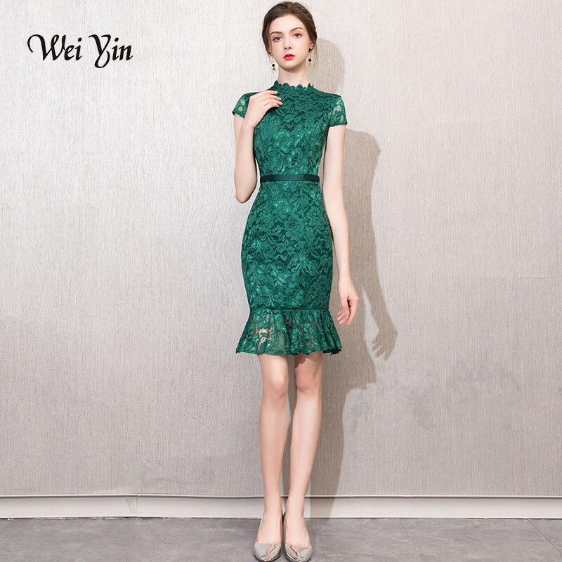 weiyin 2019 New Women   Dress   Elegant Solid   Cocktail     Dress   Ladies Sleeveless Slim   Cocktail     Dress   WY752