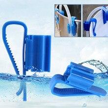 2PcsAquarium водопровод зажим синий пластик бытовой пивоварения баррель Радуга всасывания Трубы Монтажный кронштейн фильтр трубки держатель