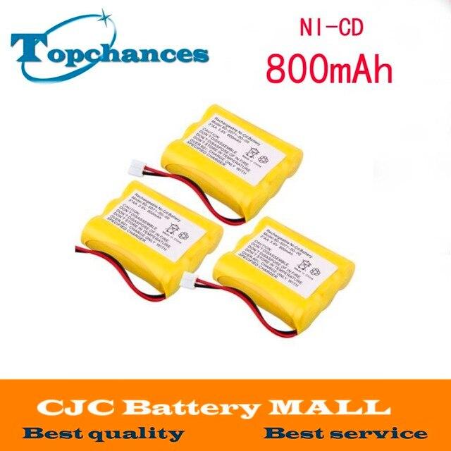 3x беспроводной домашний телефон Батарея для gp gp60aas3bmj Империя cph-482d Casio cp850
