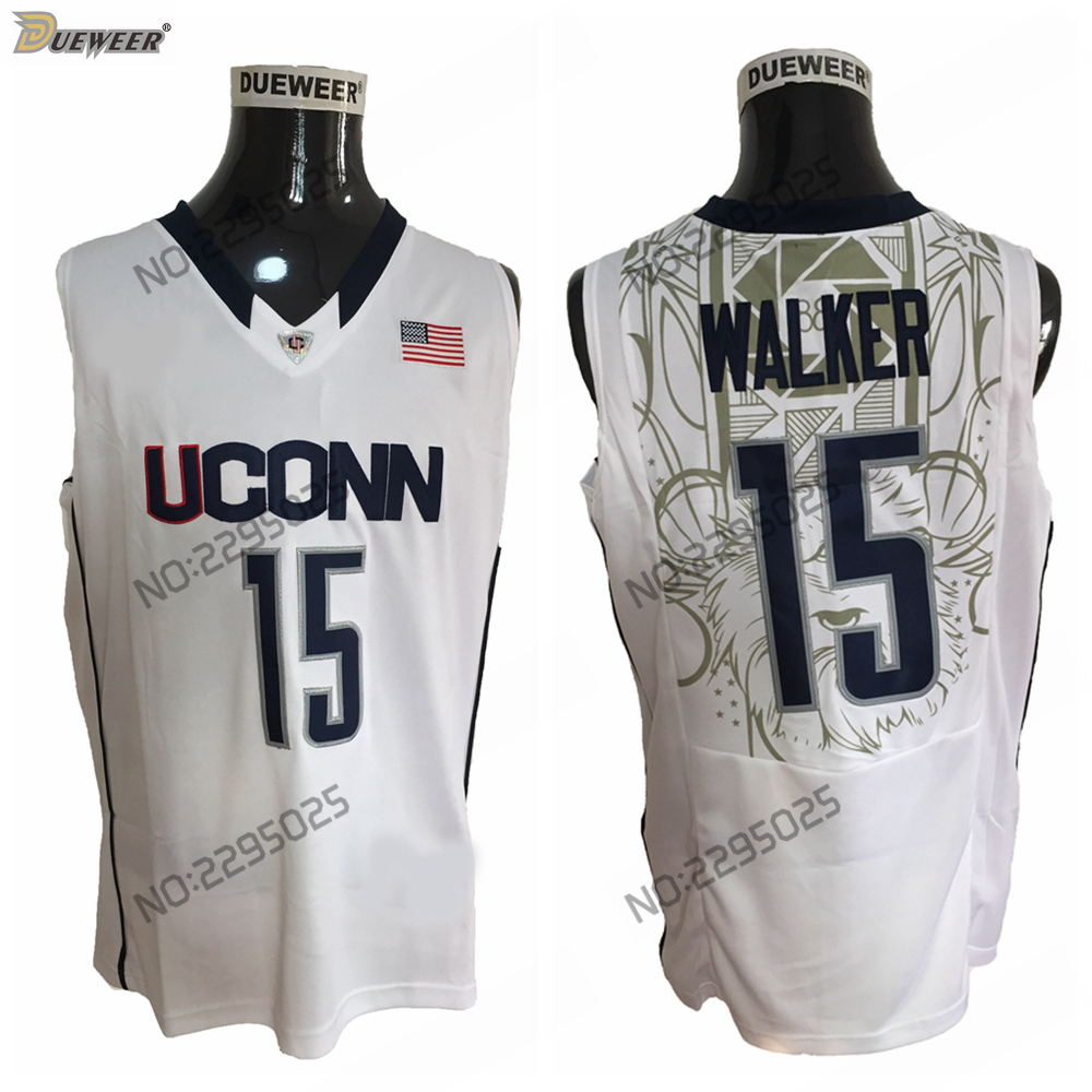 ec006d5e261c sweden dueweer mens throwback uconn huskies kemba walker college basketball  jerseys road white 15 kemba walker