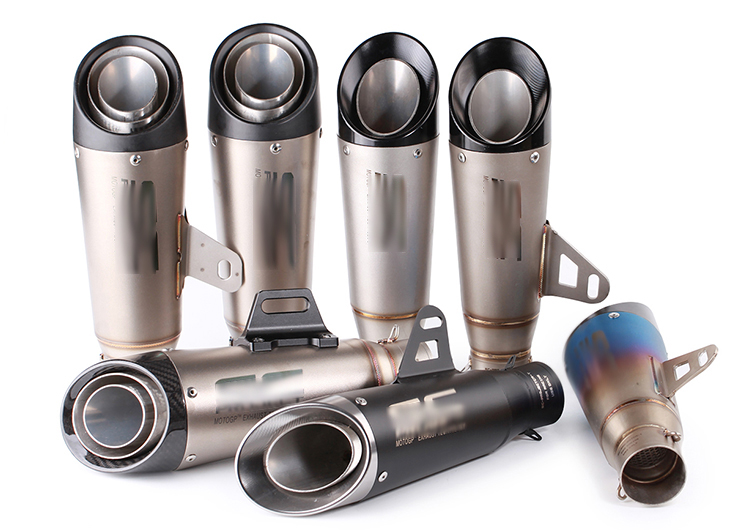 SC PROJECT Motorcycle Exhaust Pipe Escape Modified Motorbike Laser Marking 51mm 61mm Muffler For CBR1000RR S1000RR Ninja250 R6 цена