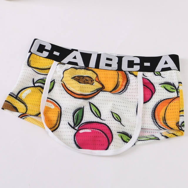 New AiBC Brand Men's Sexy Underwear Men Boxer Shorts Pouch Designed Underwear Boxers For Man