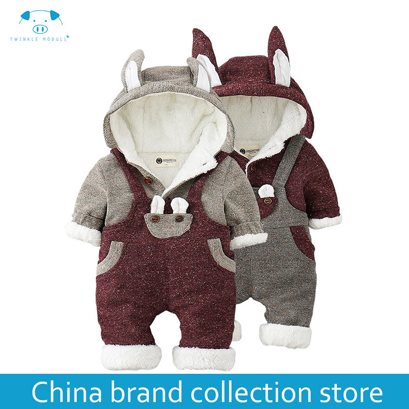 winter rompers newborn boy girl clothes set baby fashion infant baby brand products clothing bebe newborn romper MD160MD025 newborn baby rompers autumn winter package feet baby clothes polar fleece infant overalls baby boy girl jumpsuits clothing set