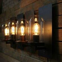 Стекло форма отель коридоров прохода бра свет ретро паб кафе бра XDB-409 бесплатная доставка