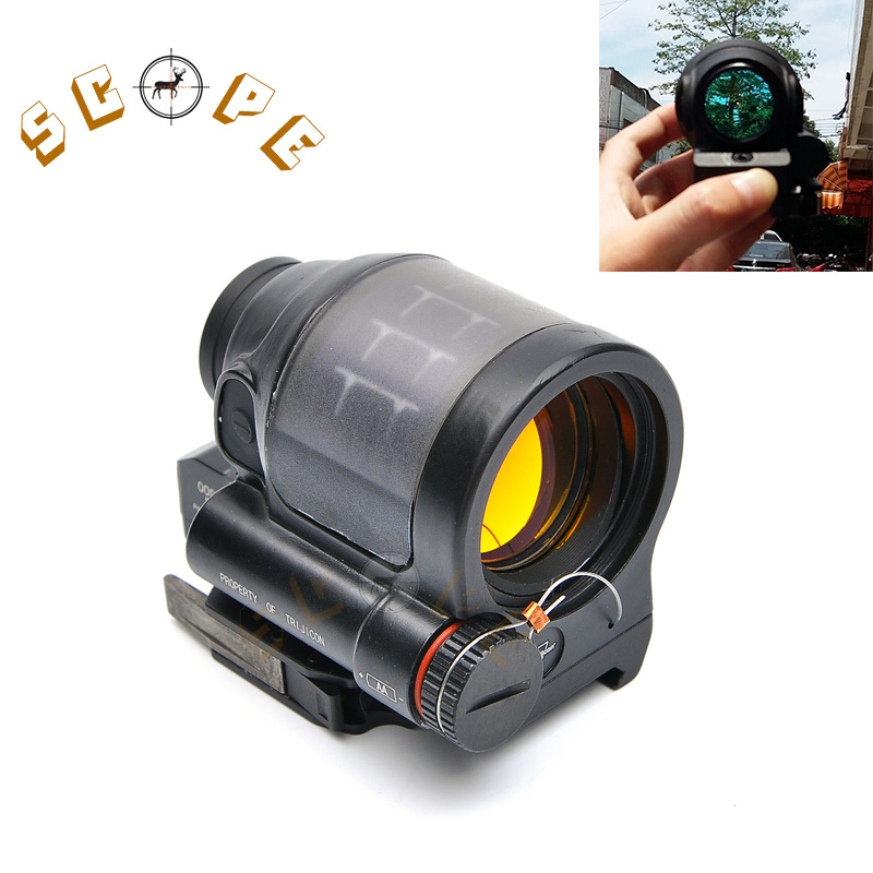Trijicon SRS Solar Power RED Dot Sight / Military Weapon Sight Red Dot Sealed Reflex Sight For Hunting Scope portable solar power meter for solar research and solar radiation measurement sm206