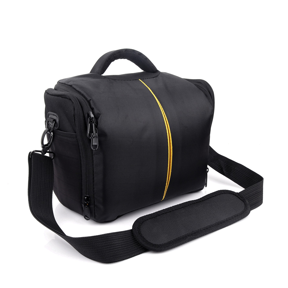Camera Case Shoulder Bag For Nikon Canon Sony Alpha A6500 A6300 A6000 A3500 A5100 A5000 A77 A9 A99 A7R A7S A7 Mark II III 2 3