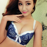 51c0cc07b 2015 Intimates VS Bra Set Lace Lingerie Push Up Sexy Bra Set Hot Women  Underwear Gathering. Conjunto de sutiã lingerie renda ...