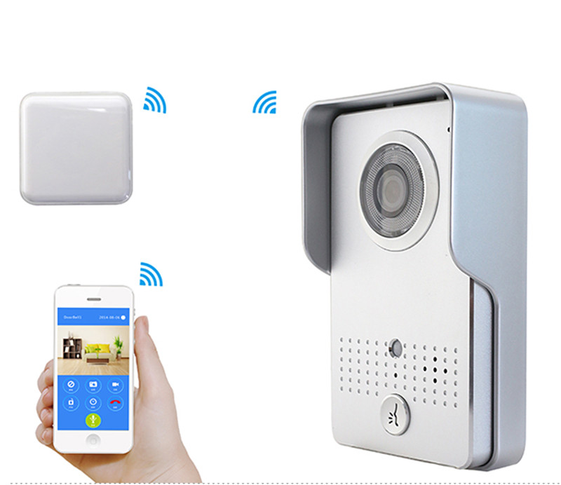 App Remote Control 720P Wireless WIFI Video Door Phone app remote control 720p wifi video door phone