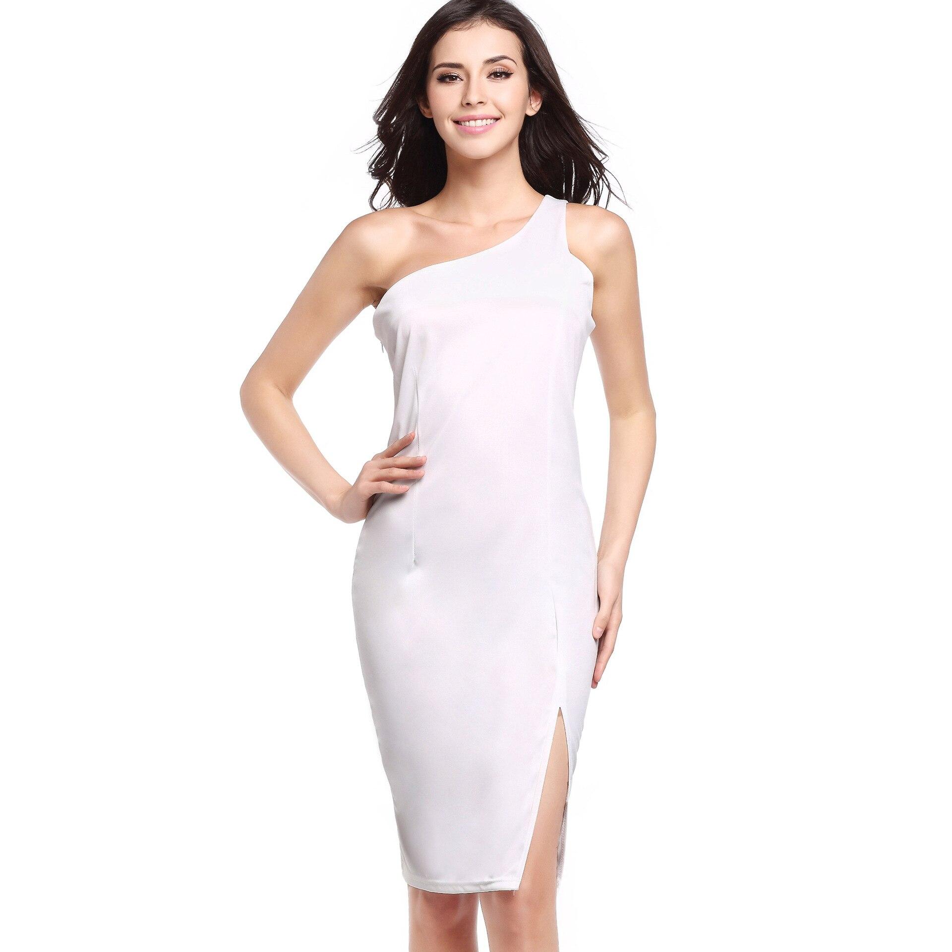 Online Get Cheap Simple Short White Dress -Aliexpress.com ...