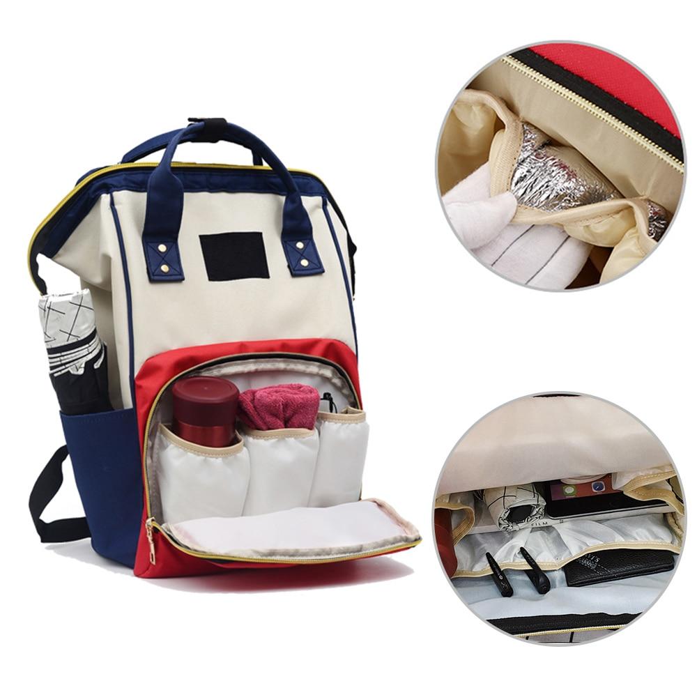 Large Capacity Mummy Diaper Bags Zipper Mother Travel Backpacks Maternity Handbags Pregnant Women Baby Nappy Nursing Diaper Bag
