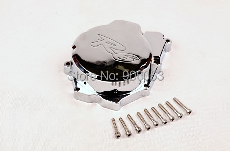 ФОТО Motorcycle Engine Stator cover for Yamaha YZF-R6 YZF R6 2006-2014 CHROME left side