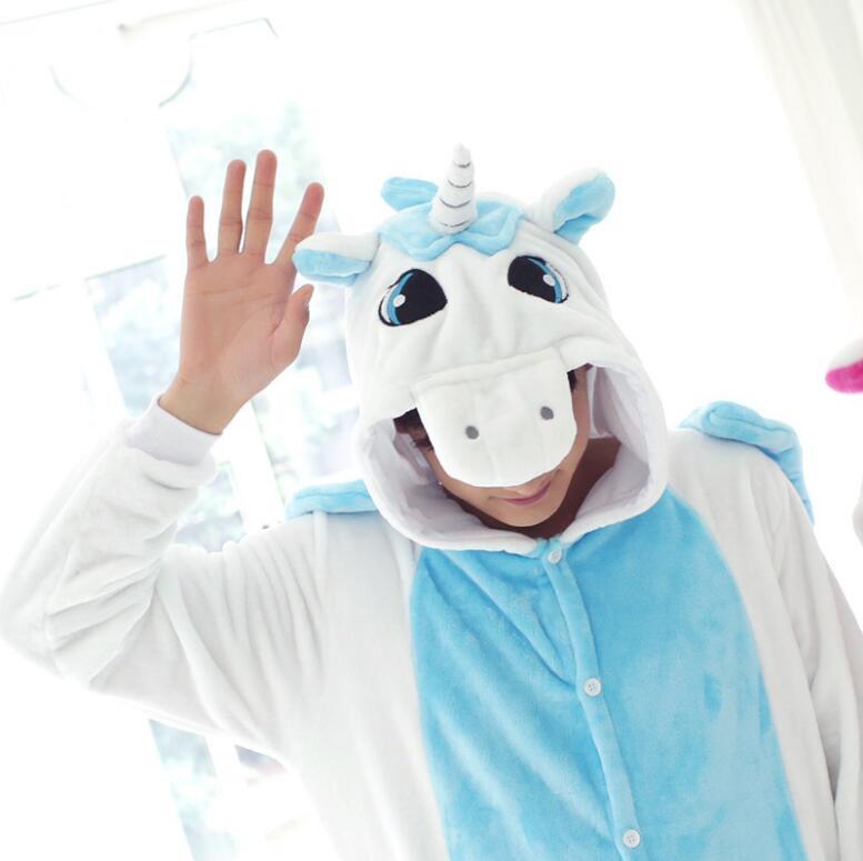 One piece Panda Unisex Unicorn Tenma Pajamas Sets Animal Costume Anime Sleepwear Party Costume For Men Women Adults