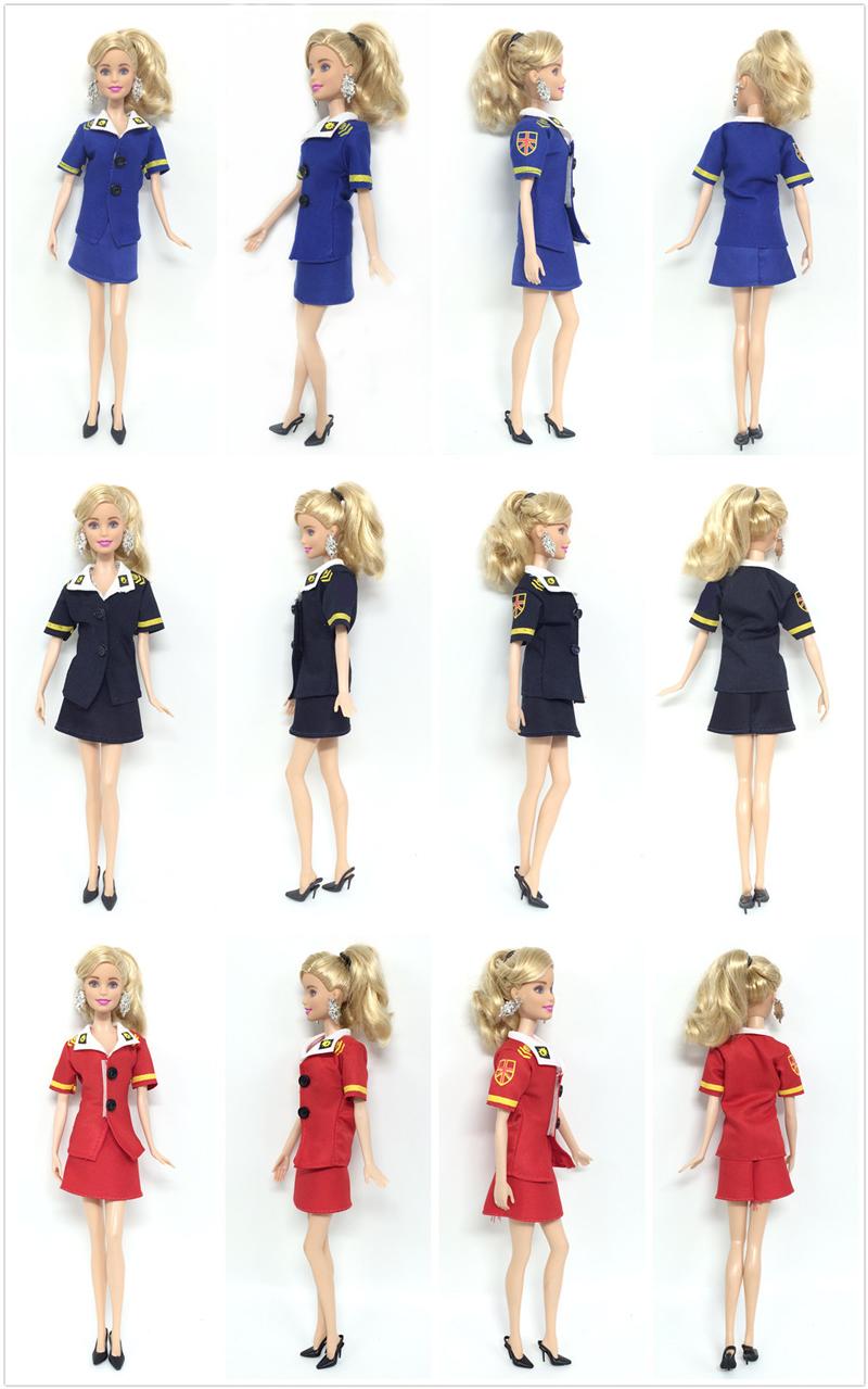 600307f3028 6 Pcs / 3 set Barbie Clothes High Quality Fashion Handmade ...