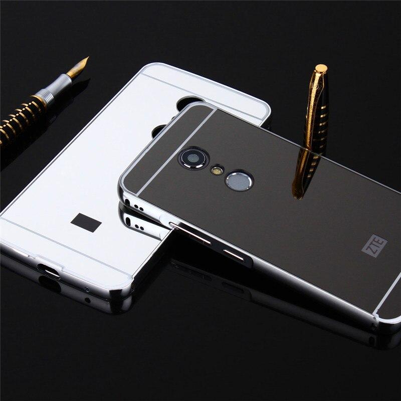 ZTE Axon 7 2017 Case Case Plating Metal Frame with Mirror Effect - Բջջային հեռախոսի պարագաներ և պահեստամասեր - Լուսանկար 6