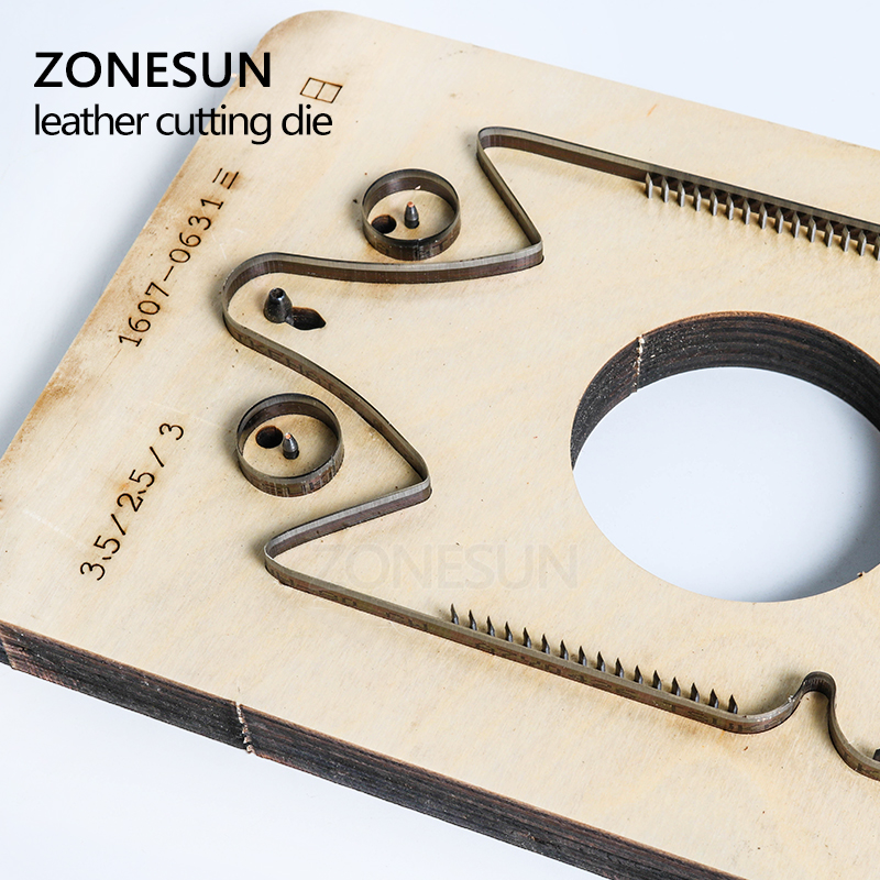 ZONESUN Customized owl shape coin pouches small coin purse minimalist wallet Punching Cutting mold die animal Japanese steel
