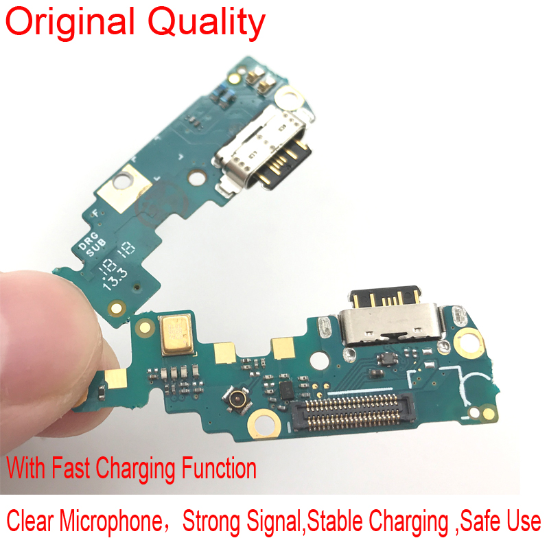 5 Pcs/lot New USB Charging Port Charger Dock Antenna Connector Mic Flex Cable Board For Nokia X6/ 6.1 Plus TA-1099/1103