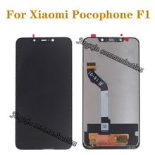 """6.18 """"nuovo display per Xiaomi Pocophone F1 LCD touch screen digitizer componente per Xiaomi poco F1 LCD parti di riparazione"""