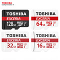 TOSHIBA Micro SD Memory Card 16G 32G 64G 128G MicroSD Cards SDHC SDXC Highest Reading Speed 90Mb/s C10 Trans Flash Mikro Card