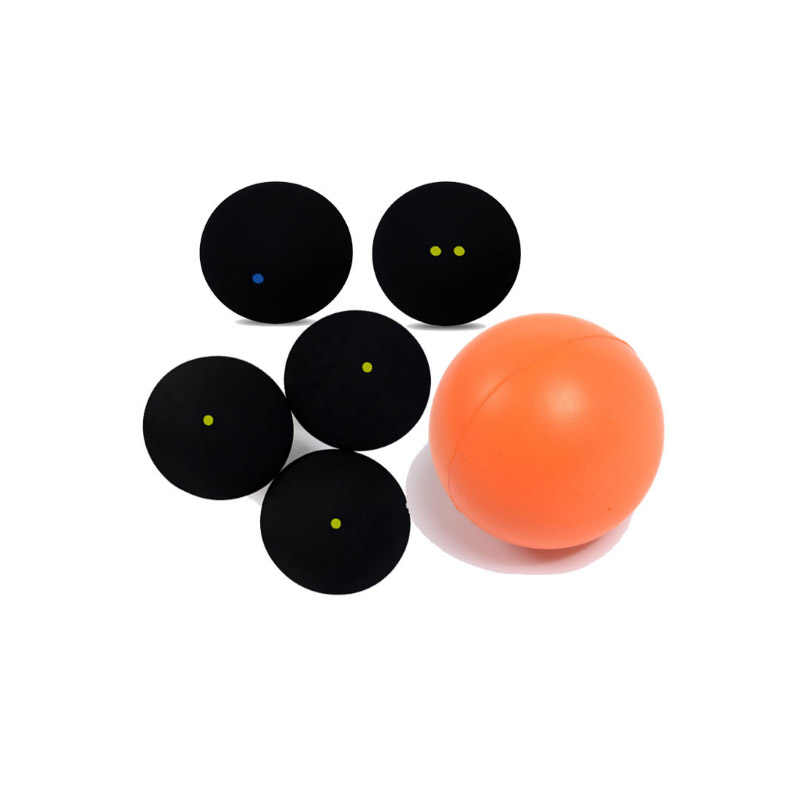 Standard British Squash Ball One Blue Dot Single Yellow Dot single blue Balls squash Slow Match Two Yellow Dot Low Fast Elastic